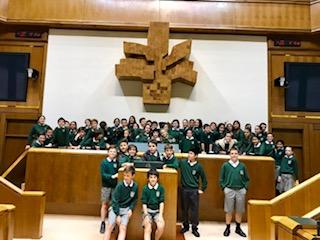 Visita al Parlamento Vasco